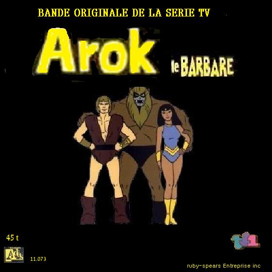 disque s u00e9ries tv et dessins anim u00e9s arok le barbare