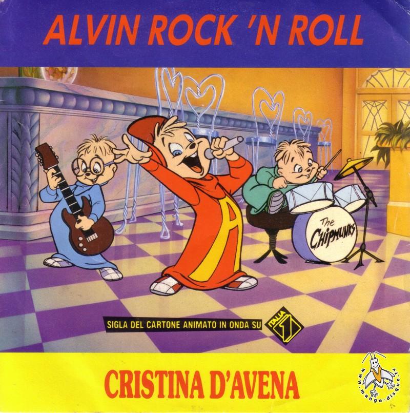 Disque séries tv et dessins animés alvin rock n roll