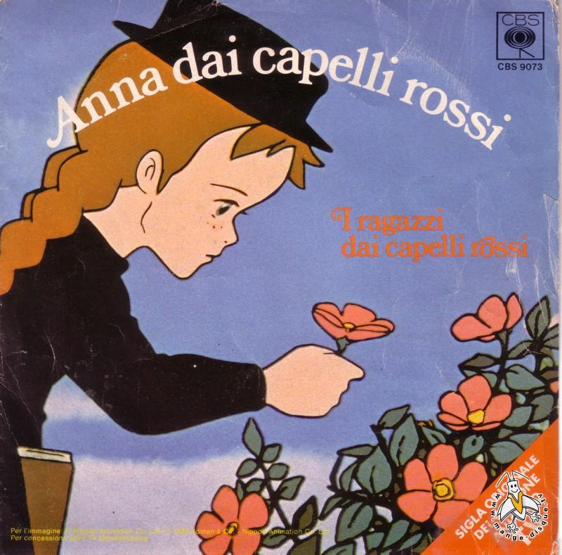 Disque s ries tv et dessins anim s anna dai capelli rossi for Anne et la maison aux pignons verts livre