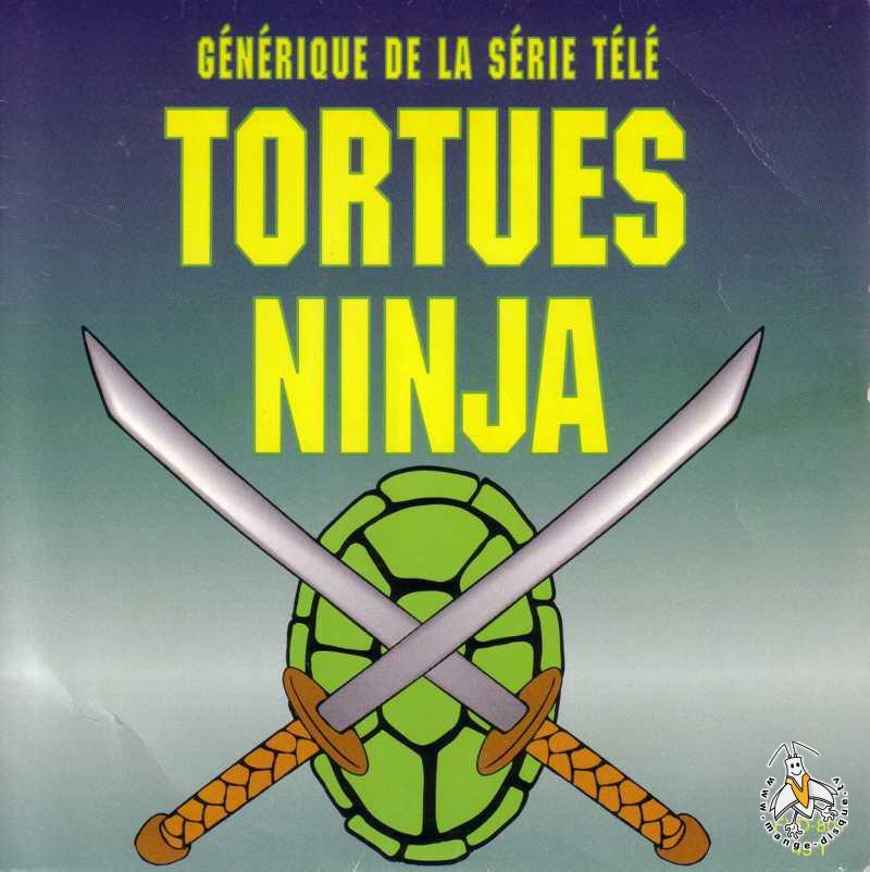 Disque s ries tv et dessins anim s g n rique de la s rie t l tortues ninja - Dessin anime ninja ...