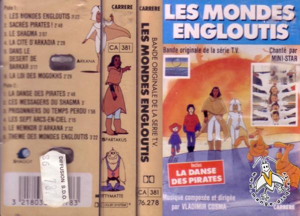 Disque Séries Tv Et Dessins Animés Les Mondes Engloutis