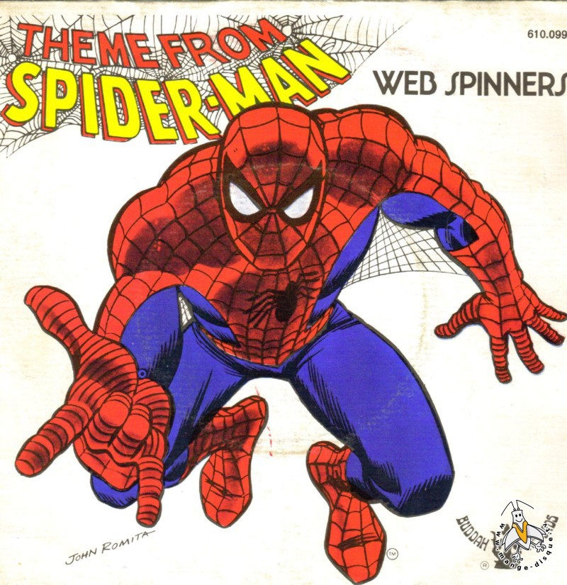 Disque s ries tv et dessins anim s theme from spider man - Dessin anime spider man ...