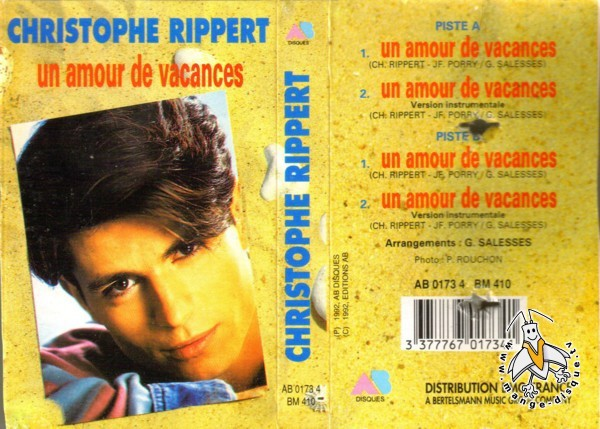 christophe rippert un amour de vacances