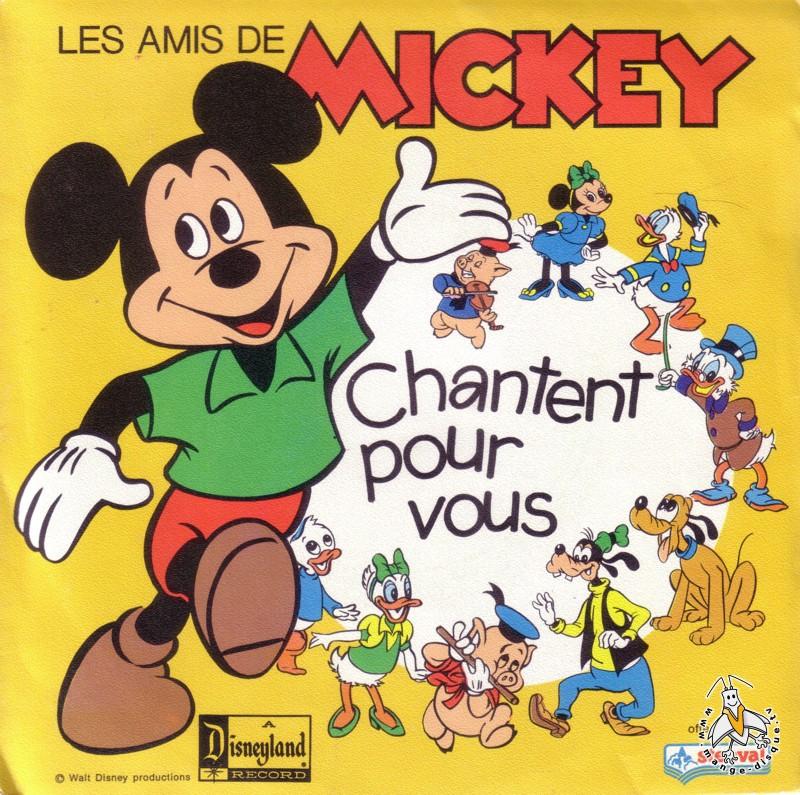 Disque s ries tv et dessins anim s les amis de mickey - Amis de mickey ...