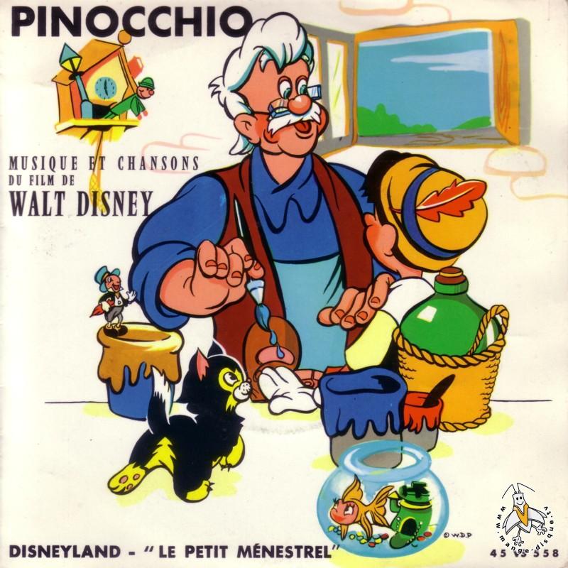 Disque Séries TV Et Dessins Animés Pinocchio Musique Et
