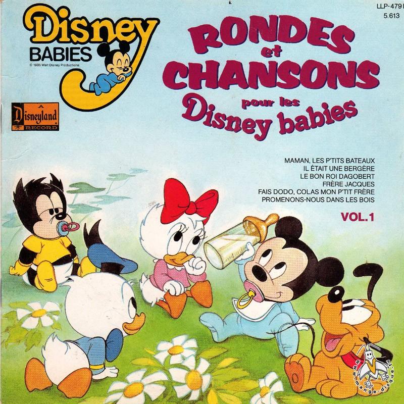 Disque s ries tv et dessins anim s rondes et chansons pour - Musique de dessin anime walt disney gratuit ...