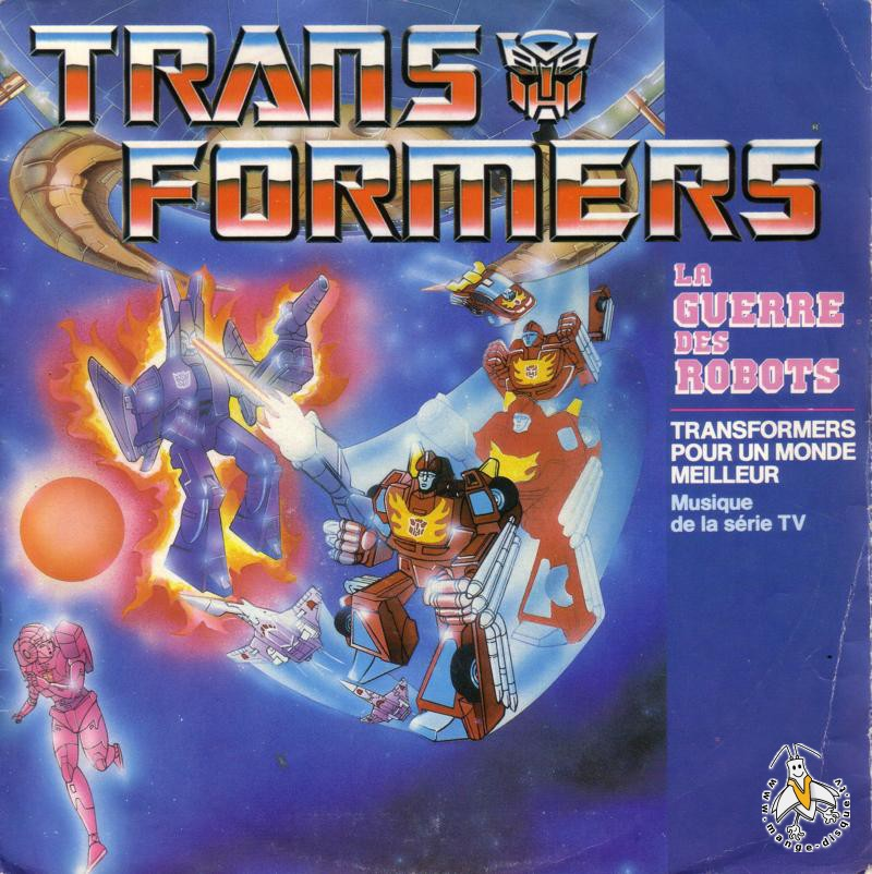 Disque s ries tv et dessins anim s transformers la guerre - Dessin anime transformers ...