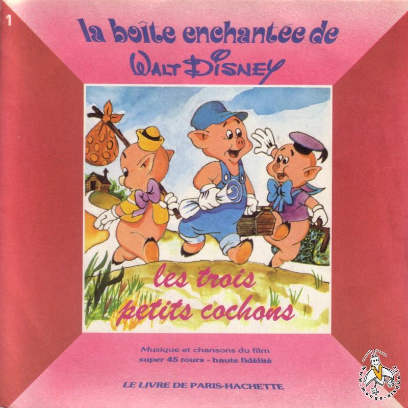 Disque s ries tv et dessins anim s la bo te enchant e de walt disney les trois petits cochons - Dessin anime les 3 petit cochons ...