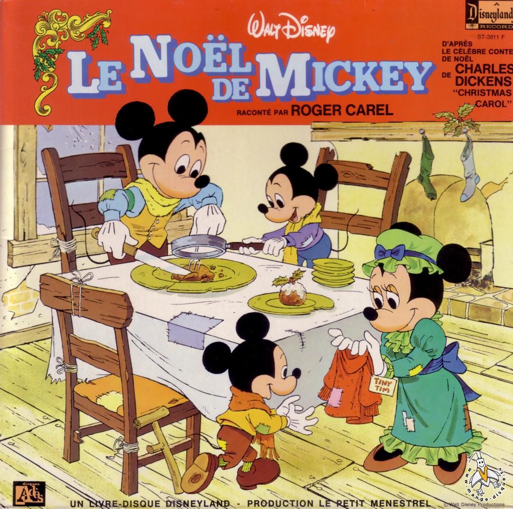 disque s ries tv et dessins anim s walt disney le no l de mickey racont par roger carel. Black Bedroom Furniture Sets. Home Design Ideas