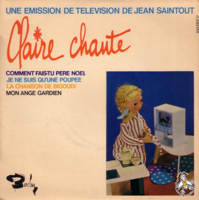 disque s ries tv et dessins anim s une emission de t l vision de jean saintout claire chante. Black Bedroom Furniture Sets. Home Design Ideas
