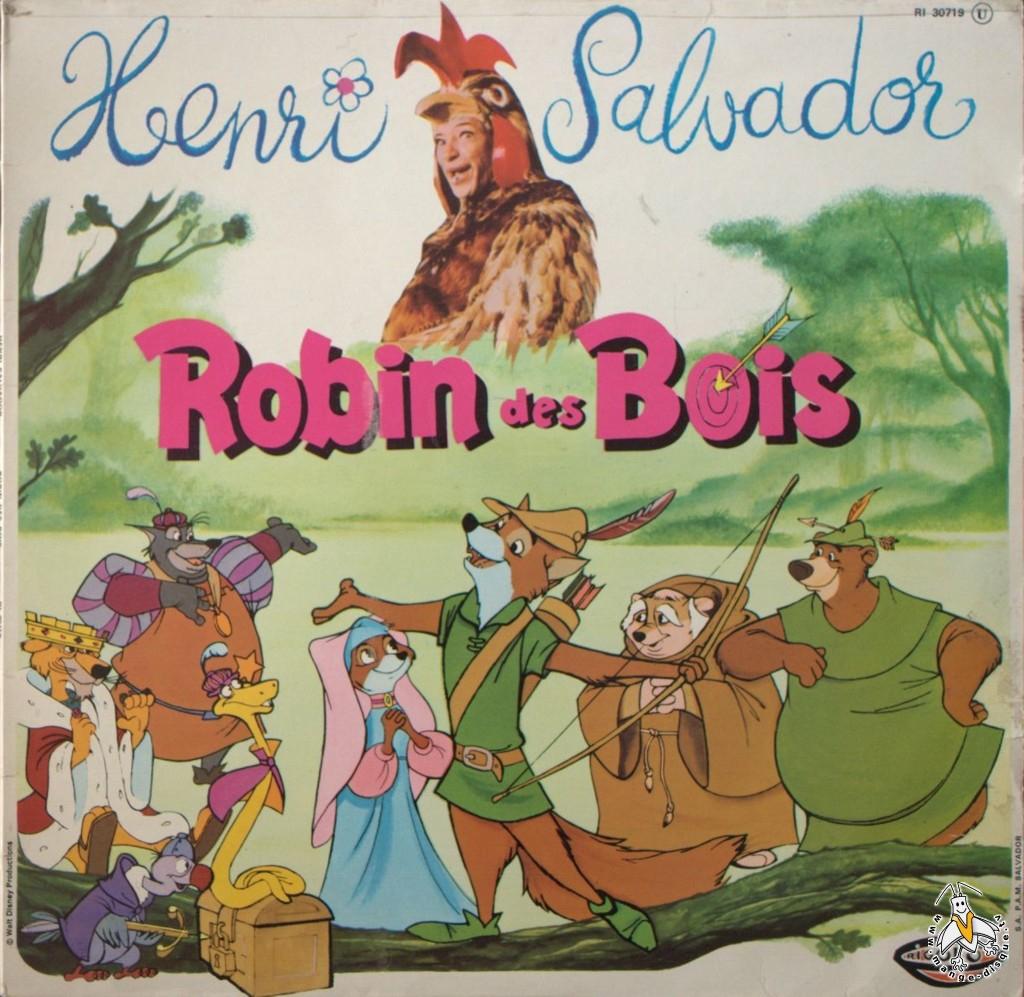 Disque Séries TV et Dessins Animés Henri Salvador Robin  ~ Cd Robin Des Bois