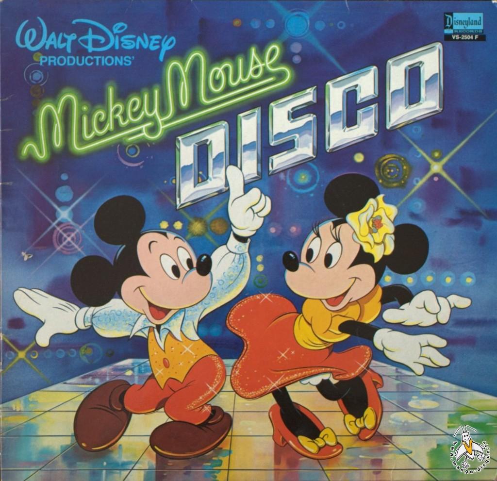 disque s ries tv et dessins anim s walt disney productions mickey mouse disco. Black Bedroom Furniture Sets. Home Design Ideas
