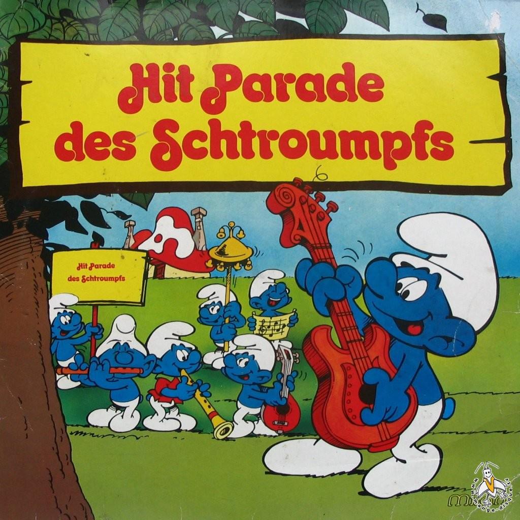 Disque S 233 Ries Tv Et Dessins Anim 233 S Hit Parade Des Schtroumpfs