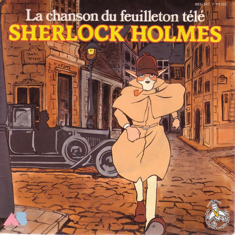 Disque s ries tv et dessins anim s la chanson du - Dessin de sherlock holmes ...