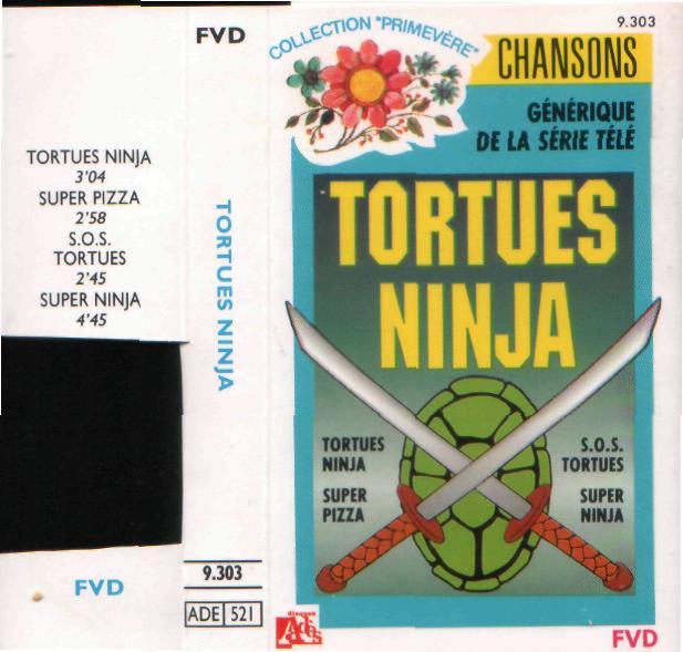 Disque s ries tv et dessins anim s chansons tortues ninja - Dessin anime tortues ninja ...