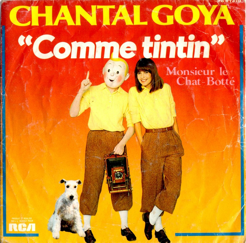 Chantal Goya Comme Tintin