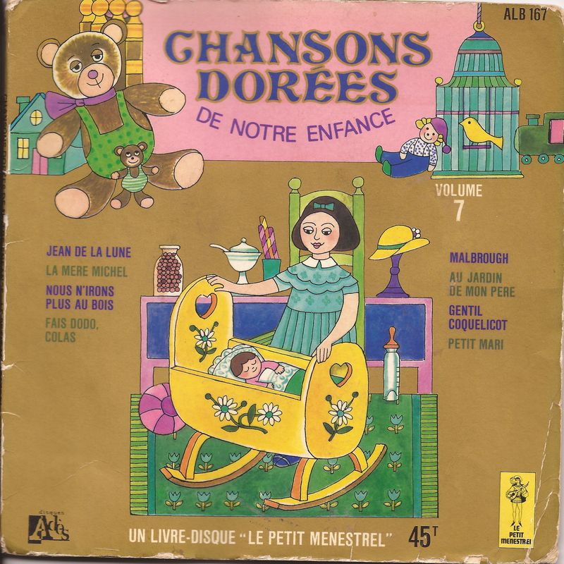 disque s ries tv et dessins anim s chansons dor es de notre enfance volume 7 rondes et comptines. Black Bedroom Furniture Sets. Home Design Ideas