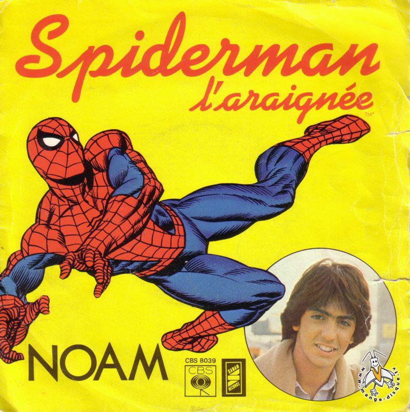 Disque s ries tv et dessins anim s spiderman l 39 araign e - Dessin anime spidermann ...