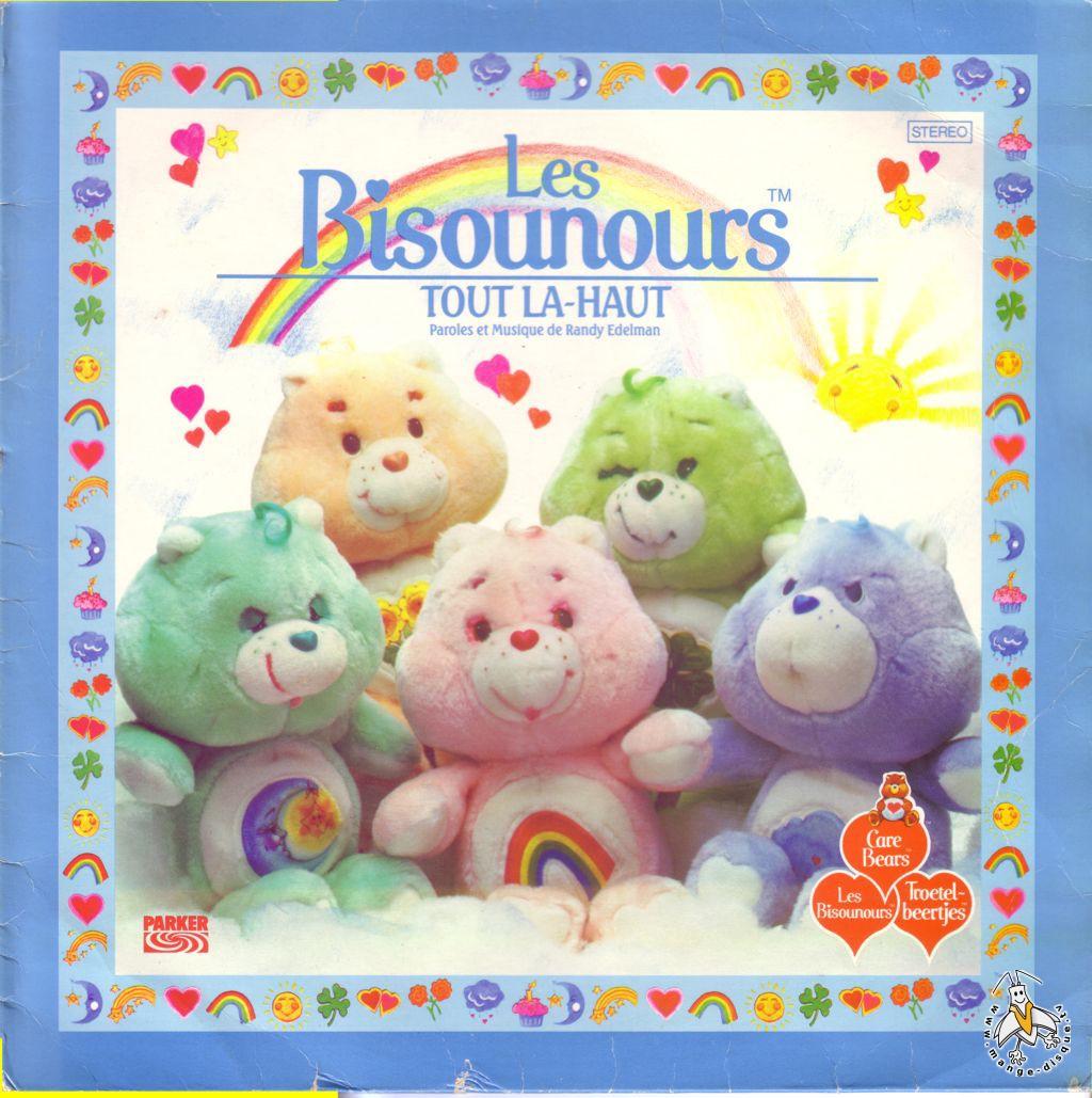 Disque s ries tv et dessins anim s les bisounours tout la haut - Bisounours tout curieux ...