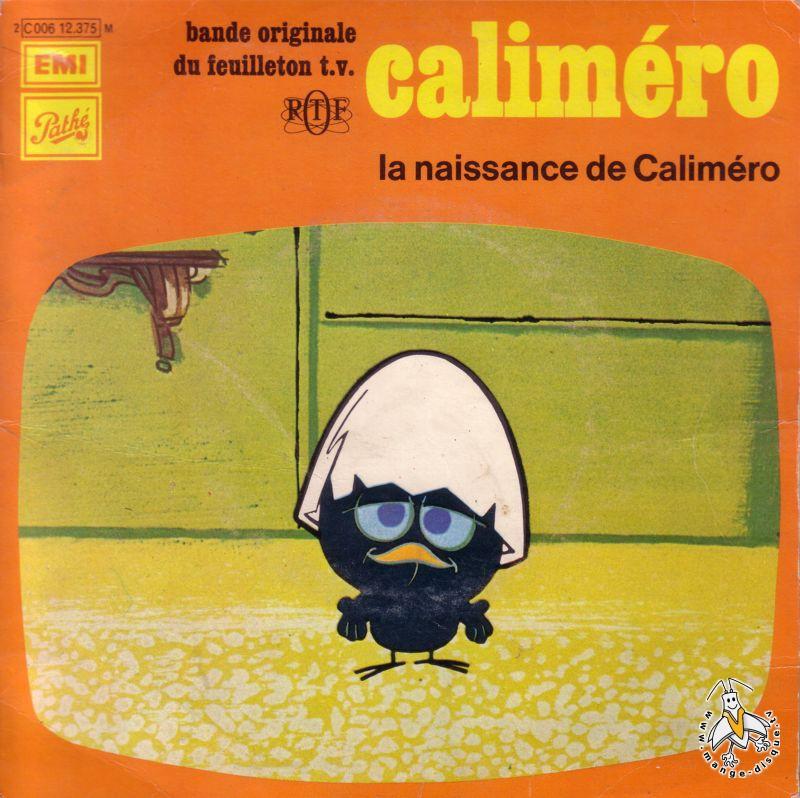 Disque s ries tv et dessins anim s calim ro la naissance de calim ro - Dessin de calimero a imprimer ...