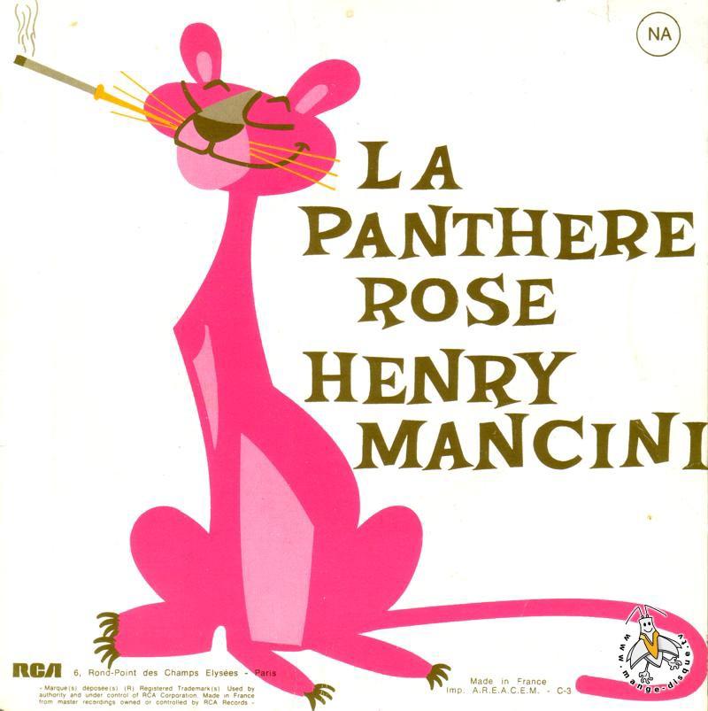 Disque s ries tv et dessins anim s la panth re rose henry mancini - La panthere rose en dessin anime ...