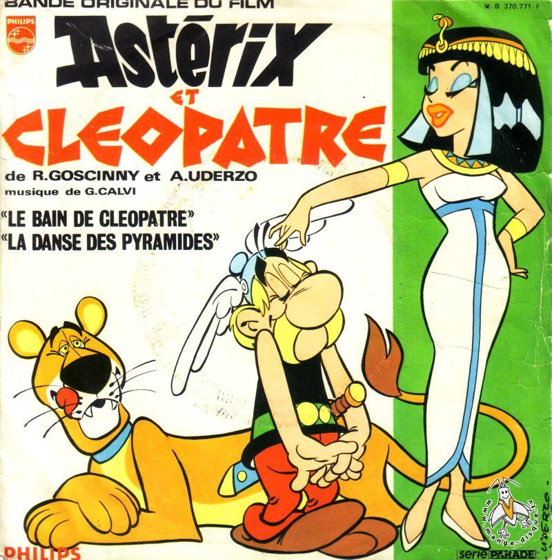 Disque s ries tv et dessins anim s bande originale fu film - Les bain de cleopatre ...